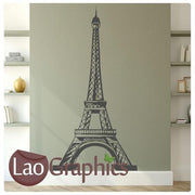 Eiffel Tower Paris World Landmark Wall Stickers Home Decor Art Decals-LaoGraphics