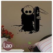 Emo Style Gothic Style Teen Wall Stickers Home Decor Art Decals-LaoGraphics