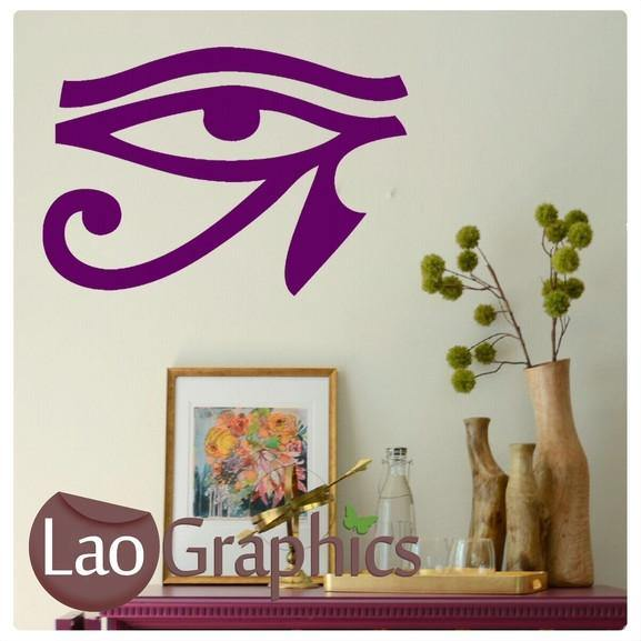 Eye of Horus Theme Style Wall Stickers Home Decor Art Decals-LaoGraphics