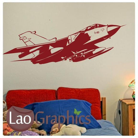 F15 Fighter Plane Military & Army Wall Stickers Home Decor Art Decals-LaoGraphics