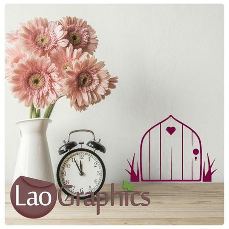Fairy Door Wall Stickers Home Decor Art Decals-LaoGraphics