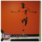 Gareth Bale Famous Footballer Wall Stickers Home Decor Art Decals-LaoGraphics
