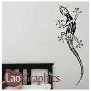 Gecko Pet Shop Animals Wall Stickers Home Decor Art Decals-LaoGraphics