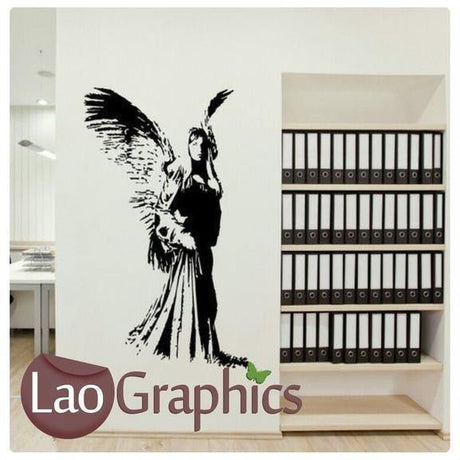 Giant Angel Wall Stickers Home Decor Art Decals-LaoGraphics