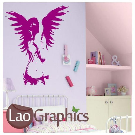 Giant Fairy Wall Stickers Home Decor Art Decals-LaoGraphics