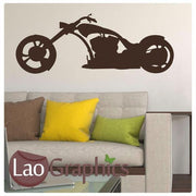Giant Motorbike Vehicle & Transport Wall Stickers Home Decor Art Decals-LaoGraphics