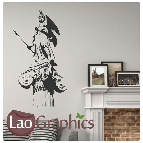 Greek Statue World Landmark Wall Stickers Home Decor Art Decals-LaoGraphics