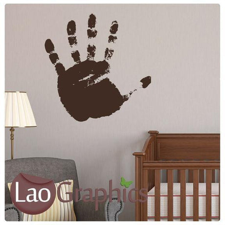 Hand Painting Nursery Wall Stickers Home Decor Childrens Art Decals-LaoGraphics
