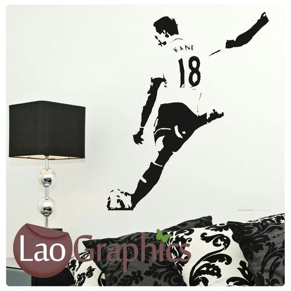 Harry Kane Famous Footballer Wall Stickers Home Decor Art Decals-LaoGraphics