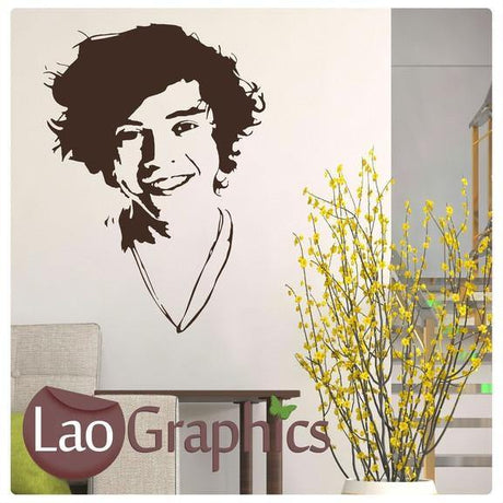 Harry Styles Wall Stickers Home Decor Art Decals-LaoGraphics