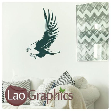 Hawk Wall Sticker Home Decor Art Decals-LaoGraphics