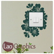 Hibcuss #2 Light Switch Light Switch Art Decals Home Decor Cute Wall Stickers-LaoGraphics