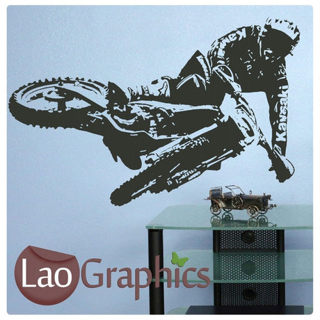 Kawasaki Scrambler Vehicle & Transport Wall Stickers Home Decor Art Decals-LaoGraphics
