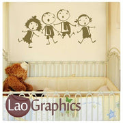 Kids Nursery Nursery Wall Stickers Home Decor Childrens Art Decals-LaoGraphics