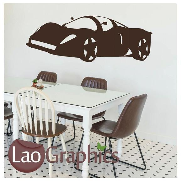 Lamborghini Sports Car Vehicle Transport Wall Stickers Home Decor Art Decals-LaoGraphics
