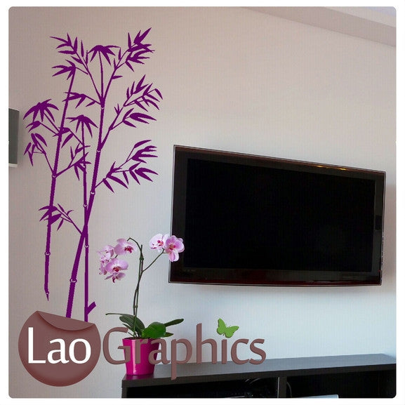 Large Bamboo Asian Korean Wall Stickers Home Decor Art Decals-LaoGraphics