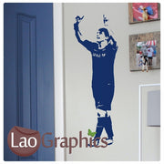 Lionel Messi Famous Footballer Wall Stickers Home Decor Art Decals-LaoGraphics