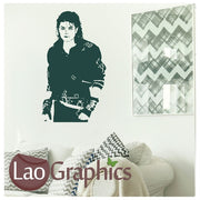 Micheal Jackson Jacko Wall Stickers Home Decor Art Decals-LaoGraphics