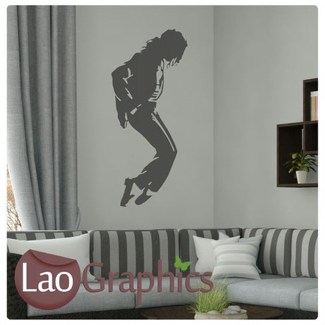 Micheal Jackson Wall Stickers Home Decor Art Decals-LaoGraphics