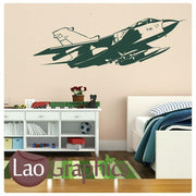 Military Plane Military & Army Wall Stickers Home Decor Art Decals-LaoGraphics