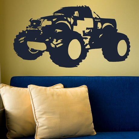 Nice Monster Truck Wall Art Images - Wall Art Design ...