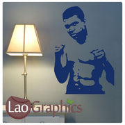 Muhammad Ali Wall Stickers Home Decor Art Decals-LaoGraphics