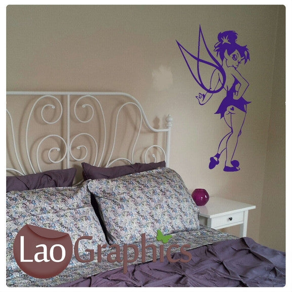 Naughty Tinkerbell Wall Stickers Home Decor Art Decals-LaoGraphics