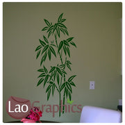 Oriental Bamboo Asian Korean Wall Stickers Home Decor Art Decals-LaoGraphics