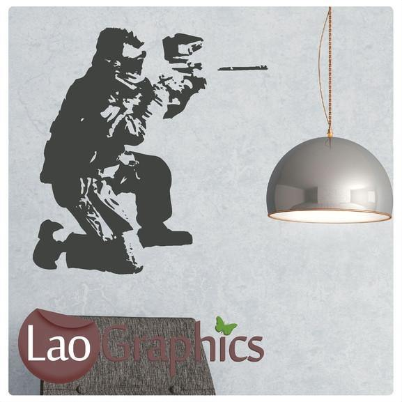 Paintballer Vinyl Transfer Wall Stickers Home Decor Art Decals-LaoGraphics