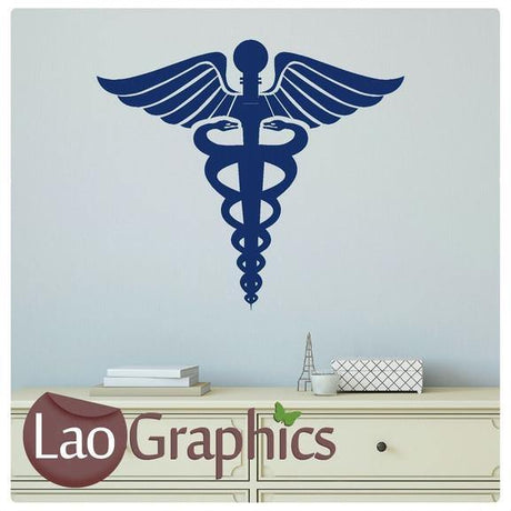 Paramedic Badge Vinyl Transfer Wall Stickers Home Decor Art Decals-LaoGraphics