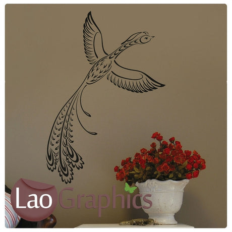 Pheonix #2 Wall Sticker Home Decor Art Decals-LaoGraphics