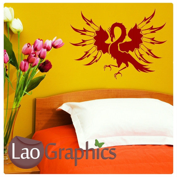 Pheonix #3 Wall Sticker Home Decor Art Decals-LaoGraphics