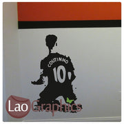 Philip Coutinho Famous Footballer Wall Stickers Home Decor Art Decals-LaoGraphics