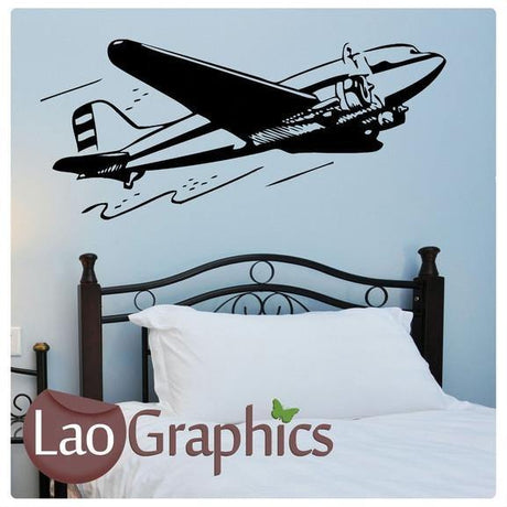 Plane Aviation & Flight Wall Stickers Home Decor Art Decals-LaoGraphics