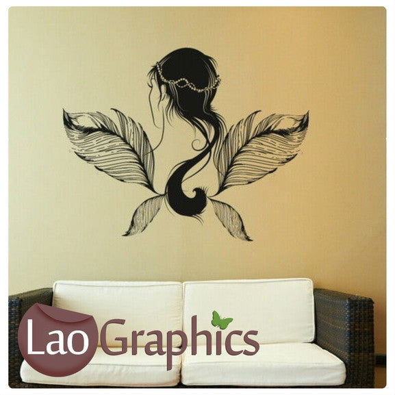 Pocahontas Fairy & Wings Wall Stickers Home Decor Art Decals-LaoGraphics
