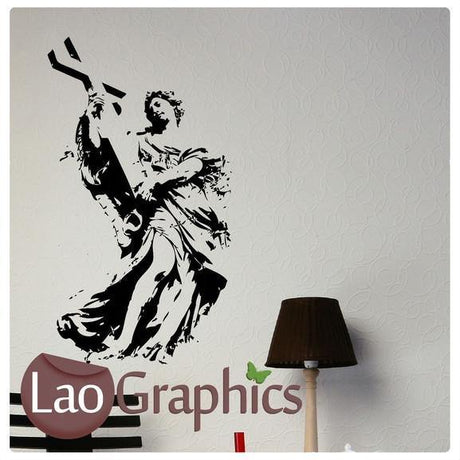 Religious Statue Vinyl Transfer Wall Stickers Home Decor Art Decals-LaoGraphics