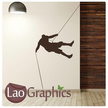 Rock Climbing Vinyl Transfer Wall Stickers Home Decor Art Decals-LaoGraphics