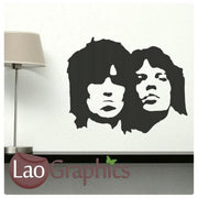 Rolling Stones Celebrity Legend Wall Stickers Home Decor Art Decals-LaoGraphics