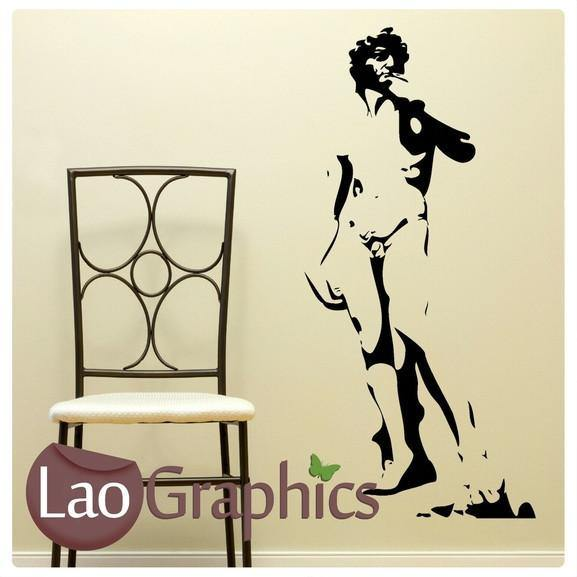 Roman Statue Vinyl Transfer Wall Stickers Home Decor Art Decals-LaoGraphics