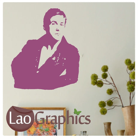 Ryan Gosling Wall Stickers Home Decor Art Decals-LaoGraphics