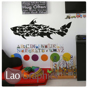 Shark Collage of Fish Boys Aquatic Wall Stickers Home Decor Art Decals-LaoGraphics