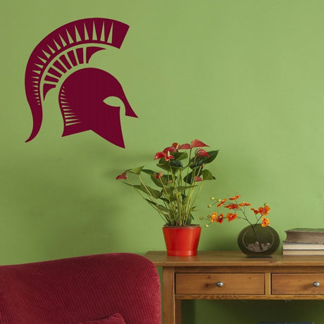 Spartan Helmet Roman Boys Bedroom Wall Stickers Home Decor Boys Room Art Decals-LaoGraphics