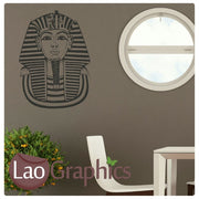Sphinx Head Theme Style Wall Stickers Home Decor Art Decals-LaoGraphics