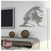 Sphinx Statue Theme Style Wall Stickers Home Decor Art Decals-LaoGraphics