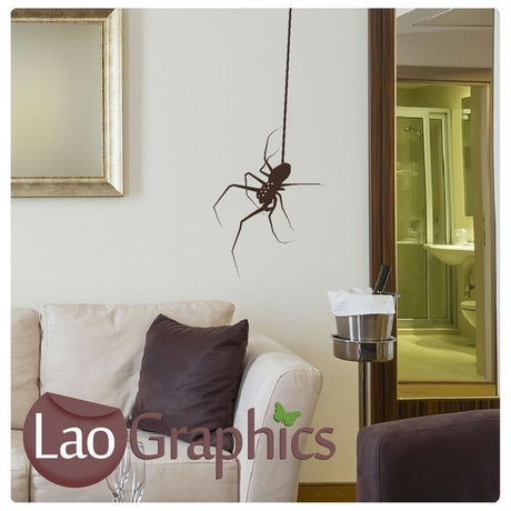 Spider Pet Shop Animals Wall Stickers Home Decor Art Decals-LaoGraphics