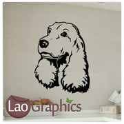 Springer Spaniel Canine Puppy Dog Lovers Wall Stickers Home Decor Art Decals-LaoGraphics
