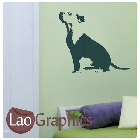 Staffordshire Bull Terrier Canine Puppy Dog Lovers Wall Stickers Home Decor Art Decals-LaoGraphics