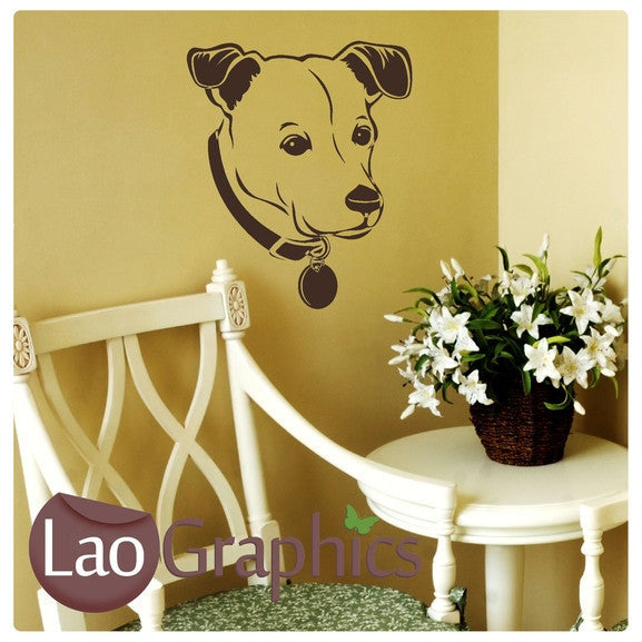 Staffordshire Terrier Canine Puppy Dog Lovers Wall Stickers Home Decor Art Decals-LaoGraphics