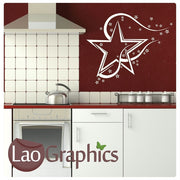 Stars & Star Vinyl Transfer Wall Stickers Home Decor Art Decals-LaoGraphics