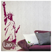 Statue of Liberty World Landmark Wall Stickers Home Decor Art Decals-LaoGraphics